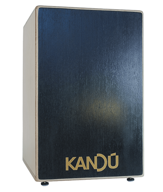 Jungle Vibe Flame Cajon – K6 – Ebony Black
