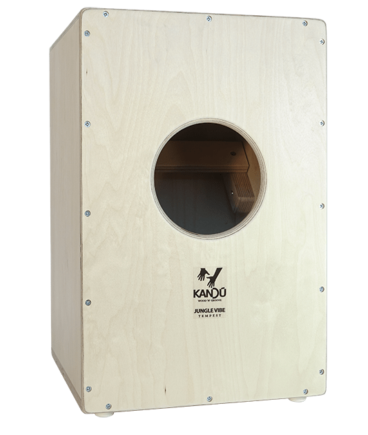 Jungle Vibe Tempest  Cajon – K5 – Pine